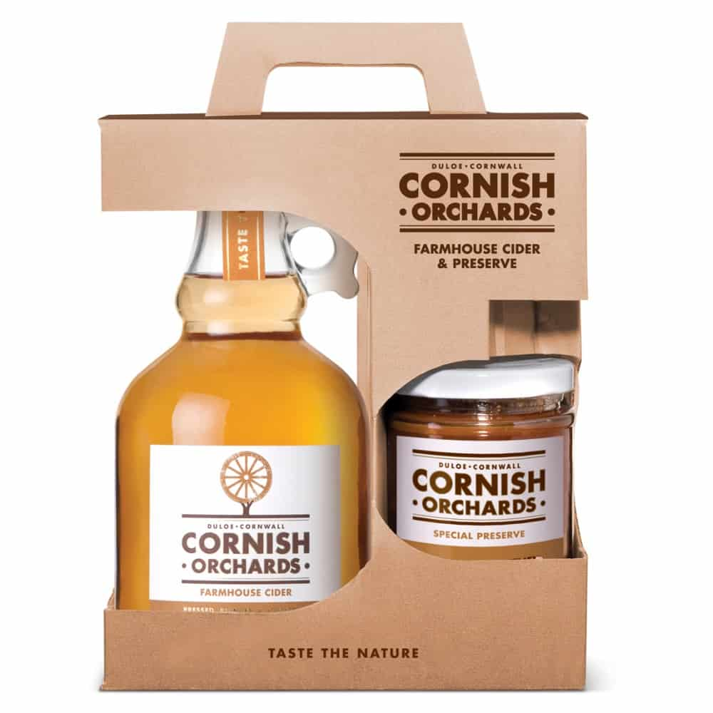 Cornish Orchards Farmhouse Cider And Preserve Gift Pack