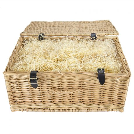 Cornish Hamper Store Open Wicker Basket