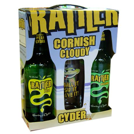 Rattle Cyder and Glass Gift Pack
